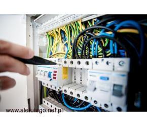 Instalacje elektryczne  – projektowanie, montaż, serwis